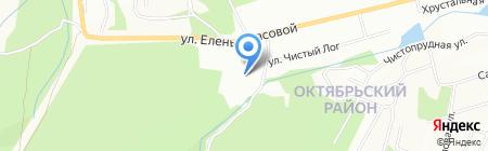 Теремок на карте Красноярска