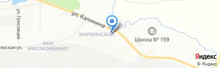 Мегаполис на карте Красноярска