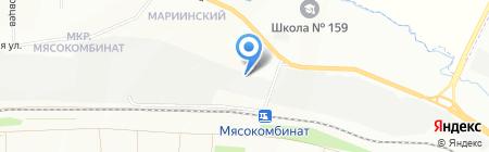 Град на карте Красноярска