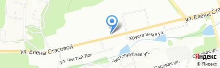 Медвежий угол на карте Красноярска