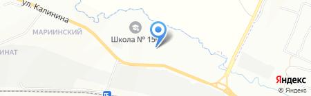 СМК на карте Красноярска