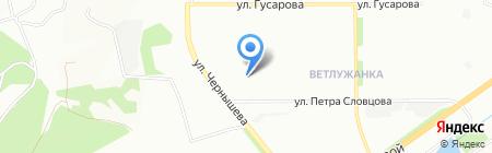 Детский сад №4 на карте Красноярска