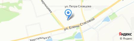 Ветеран на карте Красноярска