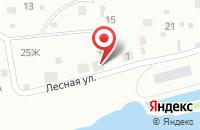 Схема проезда до компании В лесу в Отрадном