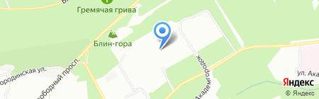 Детская музыкальная школа №11 на карте Красноярска