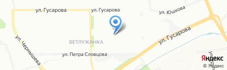 Детский сад №299 на карте Красноярска