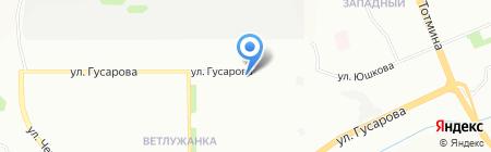 Москитные сетки на карте Красноярска