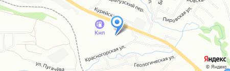 Щёлково Агрохим на карте Красноярска