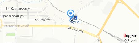 ГЭС на карте Красноярска