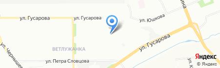 Средняя общеобразовательная школа №133 на карте Красноярска
