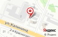 Схема проезда до компании Цезарь-Эдвенс в Красноярске