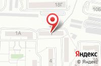 Схема проезда до компании Ажа в Красноярске