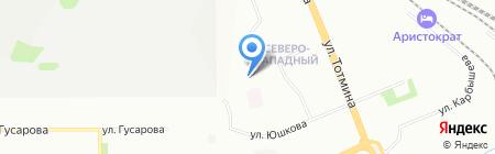 Авикант на карте Красноярска