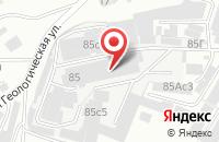 Схема проезда до компании Содал в Красноярске