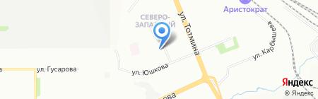РОСНО-МС на карте Красноярска
