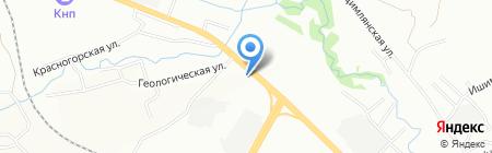 Про-Брайт Красноярск на карте Красноярска