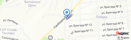 Улыбка на карте Красноярска