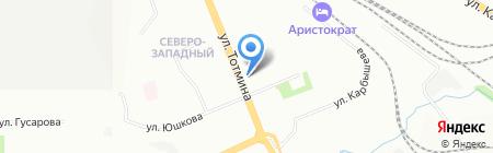 Юлистам на карте Красноярска