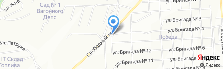 Робин Бобин на карте Красноярска