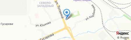 Эльсити на карте Красноярска