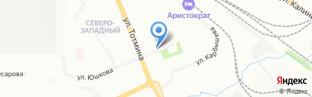 Ермак24 на карте Красноярска