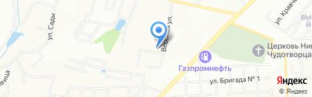 Ютми-КР на карте Красноярска