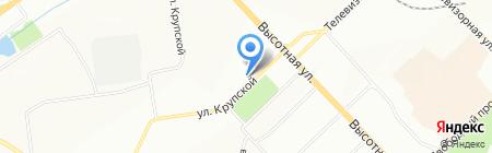 Красота по-русски на карте Красноярска