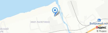 Диогенов на карте Красноярска