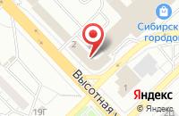 Схема проезда до компании Промкомплектсервис в Красноярске
