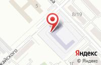 Схема проезда до компании Сибирская Ассоциация Гостеприимства в Красноярске