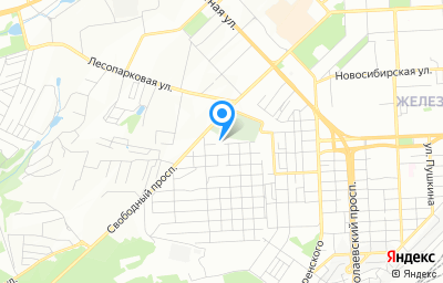 Местоположение на карте пункта техосмотра по адресу г Красноярск, ул Пролетарская, зд 159 стр 1
