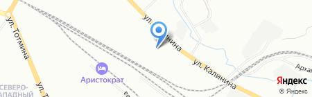 Терра на карте Красноярска