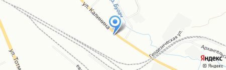 Шанти на карте Красноярска
