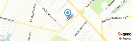 Амбарчик на карте Красноярска