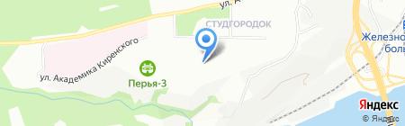 АРЕММАКС на карте Красноярска