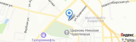 Шиномонтажная мастерская на Свободном проспекте на карте Красноярска