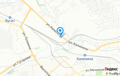 Местоположение на карте пункта техосмотра по адресу г Красноярск, ул Калинина, д 53А стр 17