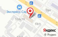 Схема проезда до компании Мир Кедра в Красноярске