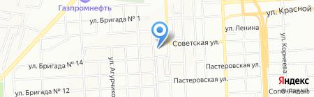 Стив на карте Красноярска
