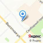 Финансовый навигатор на карте Красноярска