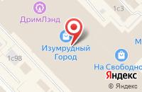 Схема проезда до компании Салон подарочной упаковки и сувениров в Красноярске