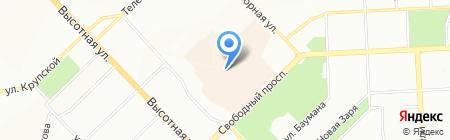 Апельсиновый кот на карте Красноярска