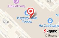 Схема проезда до компании Сибцентркомплект в Красноярске
