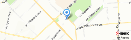 Регент-Арт на карте Красноярска