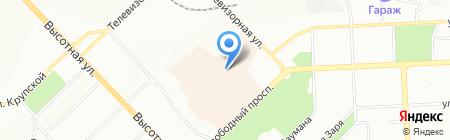 ПМК+ на карте Красноярска