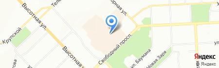 ЦентрОбувь на карте Красноярска