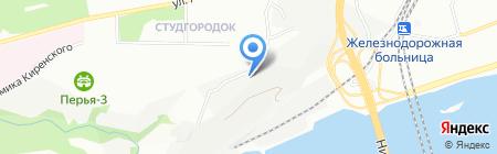 Лайм на карте Красноярска
