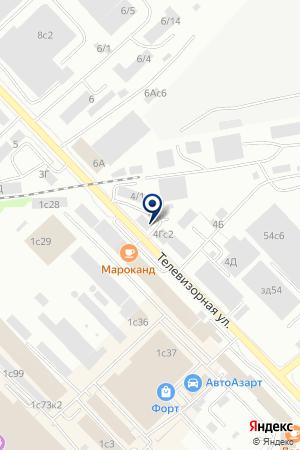 ПРОИЗВОДСТВЕННОЕ ПРЕДПРИЯТИЕ СТРОЙИНДУСТРИЯ на карте Красноярска