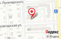 Схема проезда до компании Highlights в Красноярске