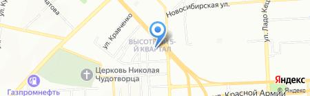 Идеал на карте Красноярска